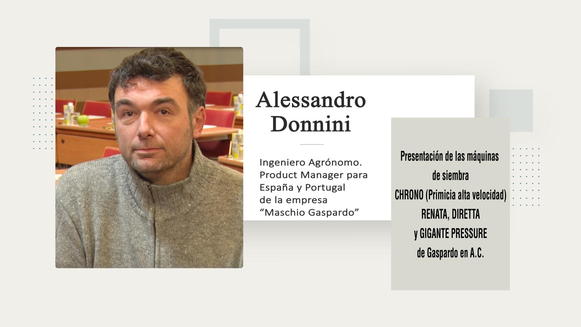 Ponencia Alessandro Donnini (Maschio Gaspardo)